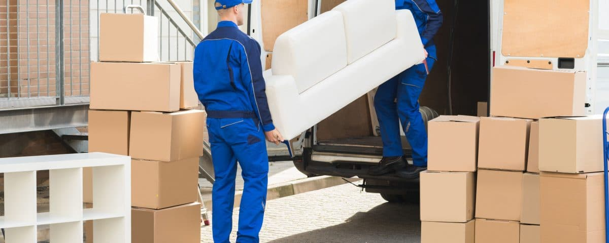 Unloading Furniture